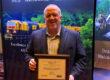 Posing with 2018 NRC platinum safety award