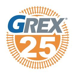 GREX 25th anniversary logo