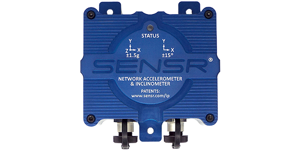 Blue CX1 Network Accelerometer and Inclinometer