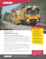 SBC2400 Spec Sheet
