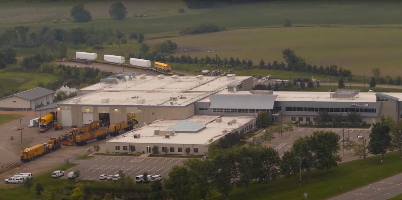 Loram HQ aerial photo