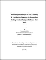 Australia Rail Study Reddy