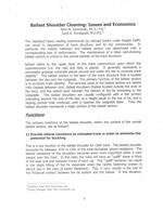 Ballast Cleaning Economics