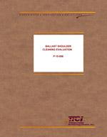 Ballast Shoulder Cleaning Evaluation