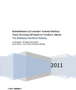 Rehabilitation of Canadian National Railway Track Servicing Oil Sands in Northern Alberta