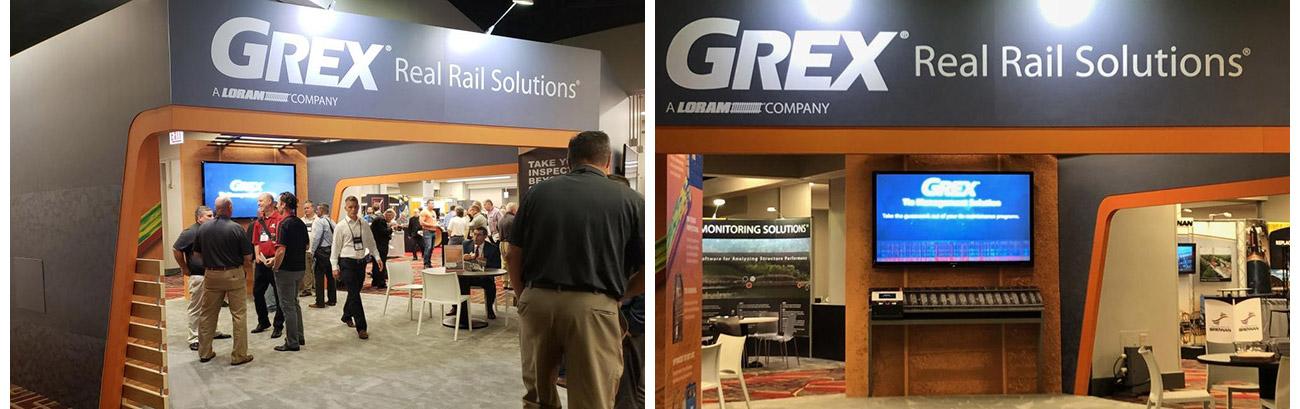 GREX AREMA 2018 booth