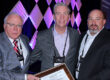 Posing with NRC Safety award 2018