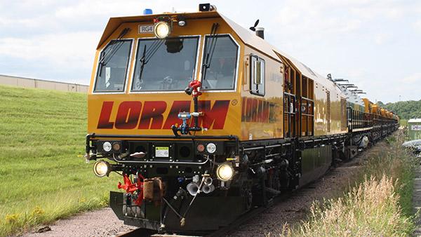 Rail Grinding train